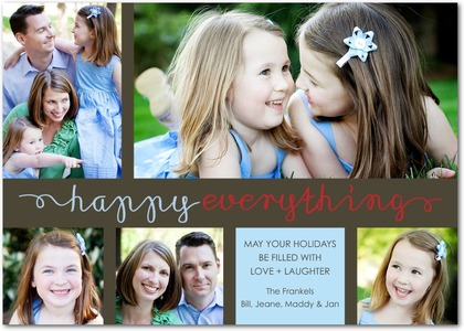 Tiny Prints Happy Moments Holiday Photo Cards