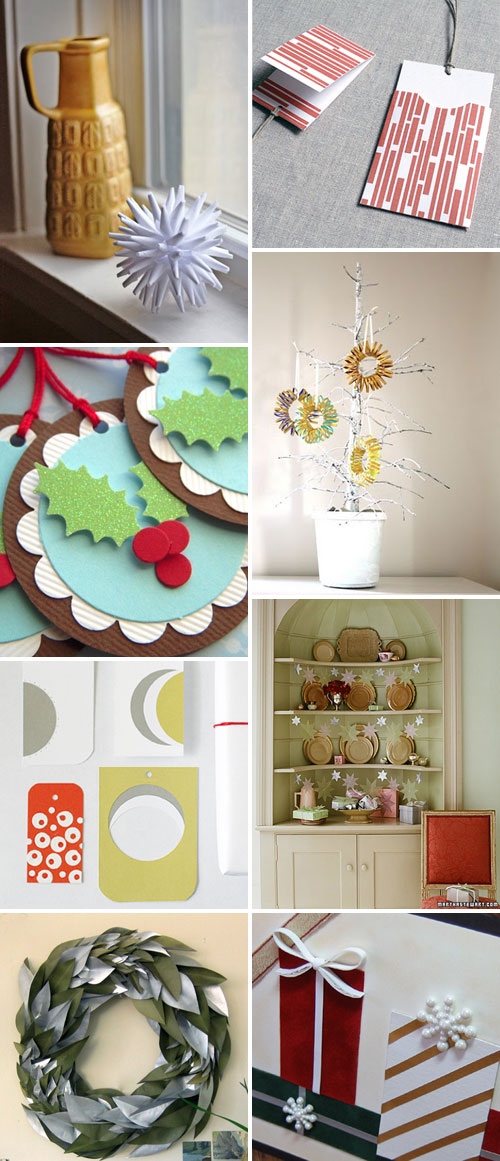 Holiday Paper Craft Tutorials