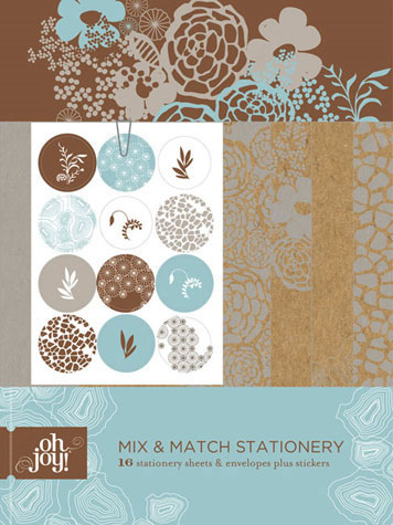Oh Joy! Mix & Match Stationery