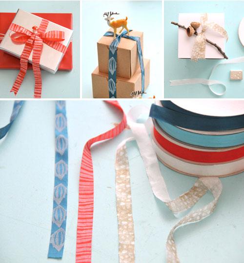 Eraser Stamp Ribbon Gifts