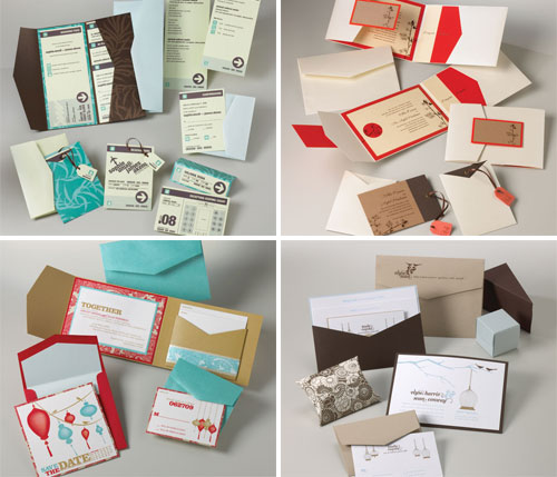 Mix and Match Invitations by Envelopments