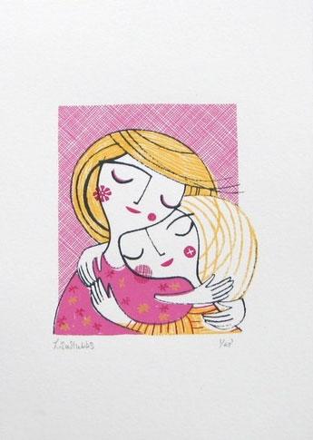 Lisa Stubbs Illustration Screen Print