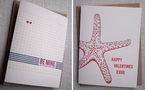 Ink & Iron Letterpress Valentines
