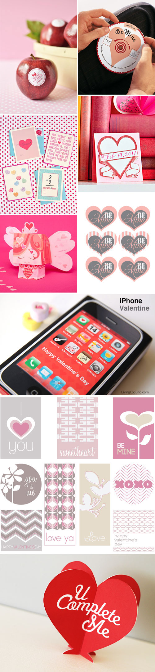 Free Printable Valentine's Day Goodies