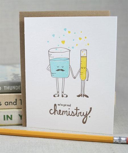 Wendu Ink Letterpress Valentine's Day Card