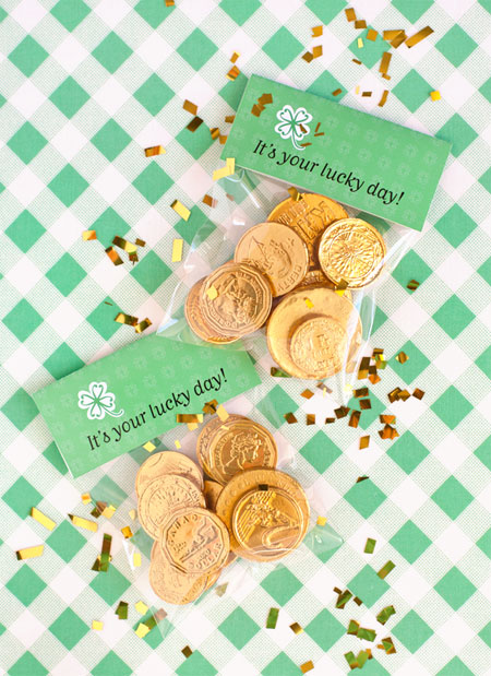 Printable Lucky Day Bag Toppers