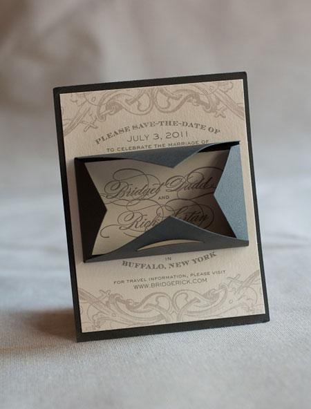 Haute Papier Custom Save the Date Cards