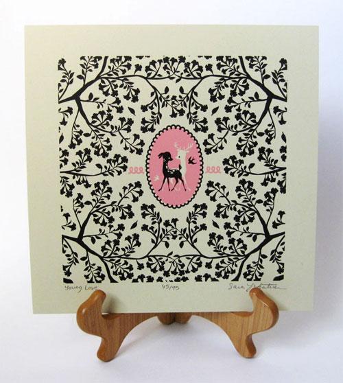 Whimsical Deer Print