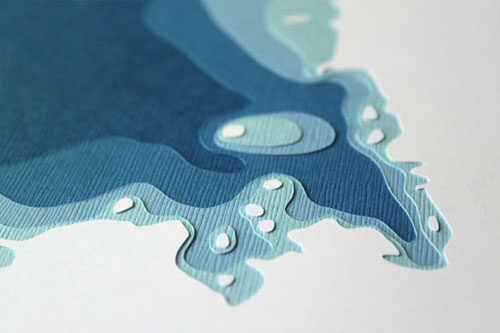 Crafterall Geological Papercuts