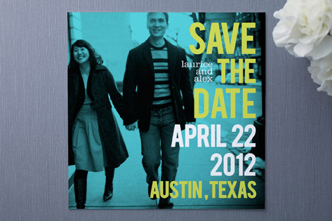 Save the Date Love Bop