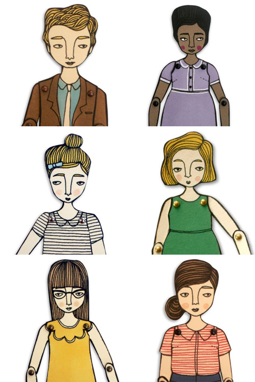 Hollandsworth Paper Dolls
