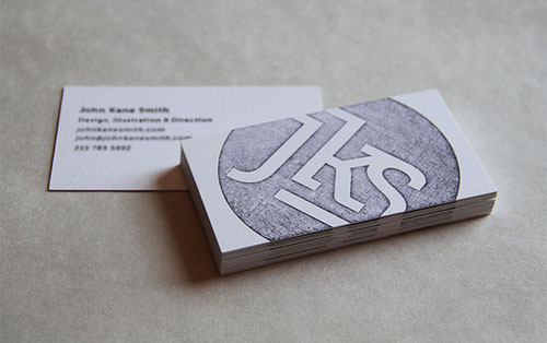 John Kane Smith Business Card