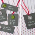 Paper Twine Holiday Gift Tags