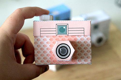 Printable Paper Camera