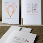 Fat Bunny Letterpress Valentines