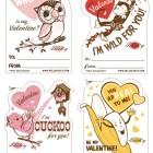 Hello Lucky Free Printable Valentines