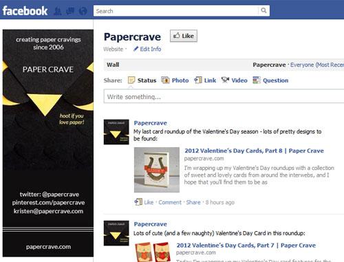 Paper Crave Facebook