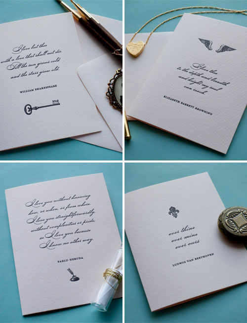 Love Letter Valentine Cards