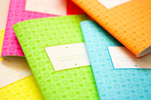 Bright Ideas Notebooks