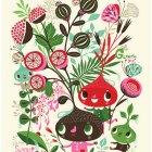 Gardens Love Warm Summer Rain by Helen Dardik