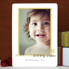 Holiday Frame Photo Cards