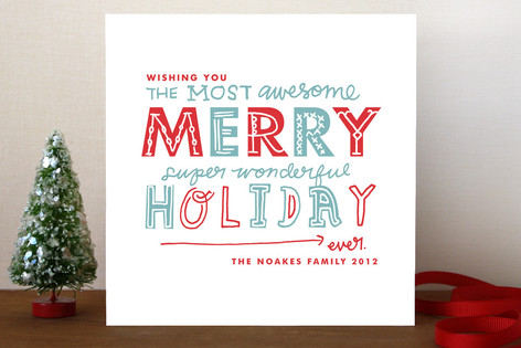 Awesome Holiday Cards