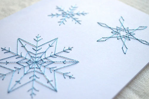Embroidered Cards by Koto Designs