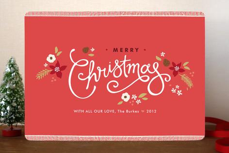 Ribbon Noel Christmas Cards