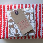 Bobalong Press Gift Wrap + Letterpress Gift Tags