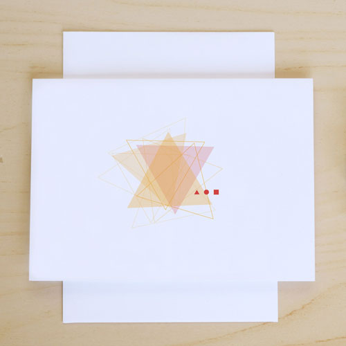 Pretty Triangle Please Card