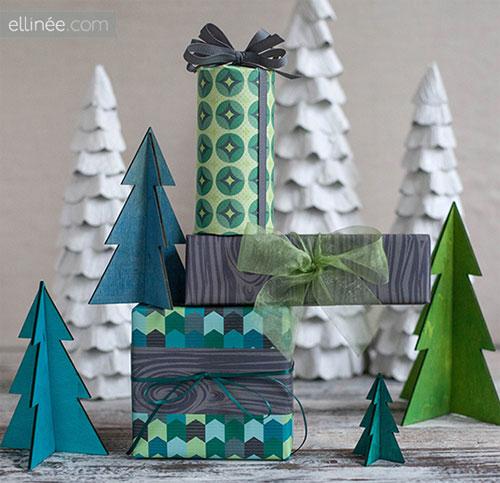 Free Printable Holiday Gift Wrap