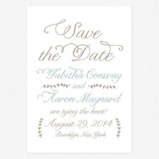 Back to Nature Save the Date Cards