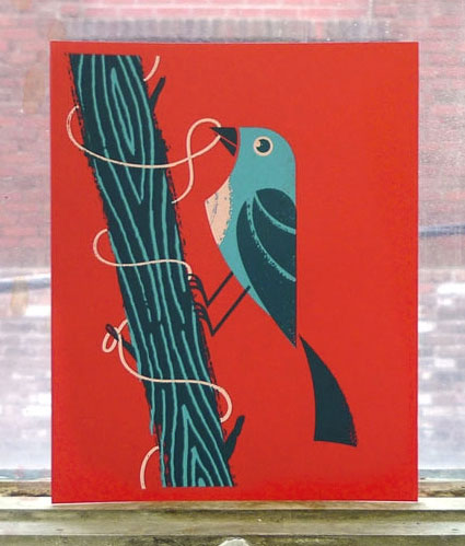Birds of Play Screen Print