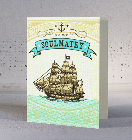 Soulmatey Card by Hammerpress