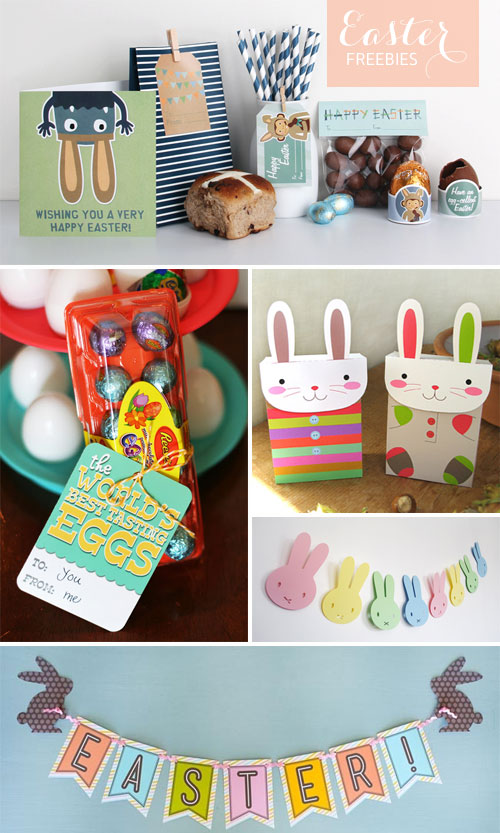 Free Printable Easter Paper Goodies