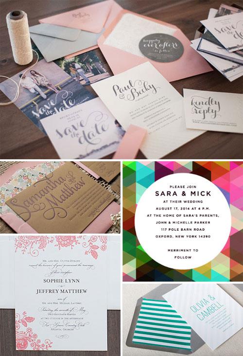 Modern Wedding invitation Design Inspiration