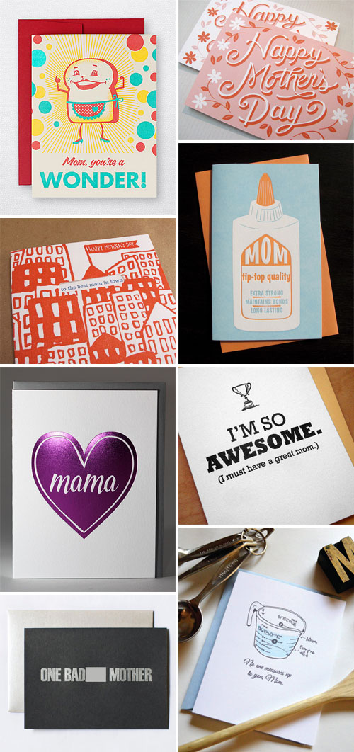 Cheeky and Clever Mother's Day Cards