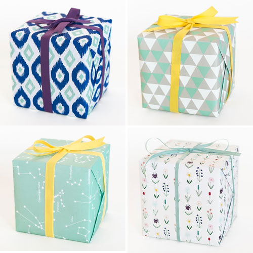 Modern Gift Wrap | Sycamore Street Press