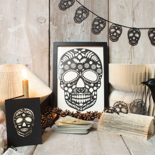 Lasercut Sugar Skull Pieces | Mr. Yen