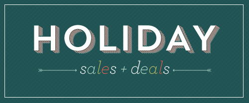 Check out holiday stationery sales + deals on papercrave.com