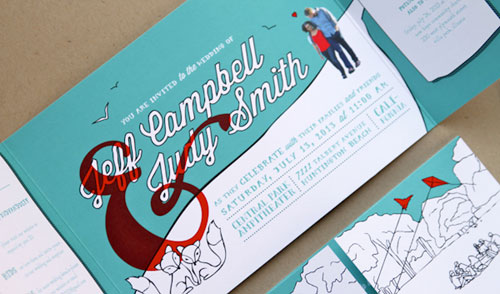 Jeff & Judy's Juno-Inspired Wedding Stationery | Anticipate Invitations