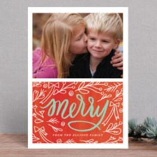 Merry Berry Holiday Photo Cards