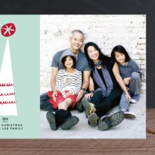 Tinseltown Holiday Photo Cards