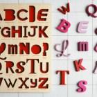 Font Alphabet Puzzles | Looodus (found via Design*Sponge)