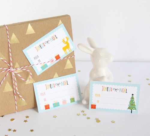 Free Printable Holiday Gift Tags | Zü