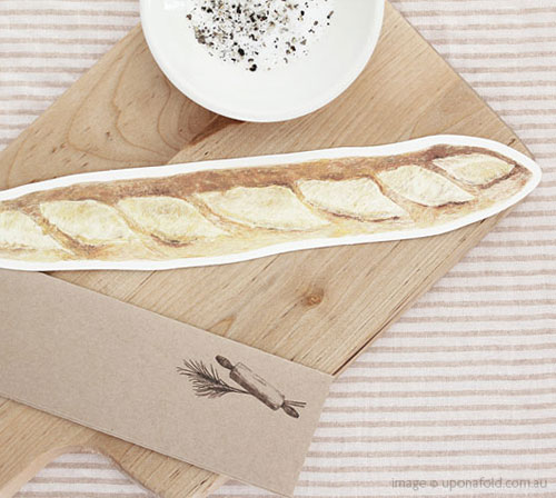 Baguette Card | Upon A Fold