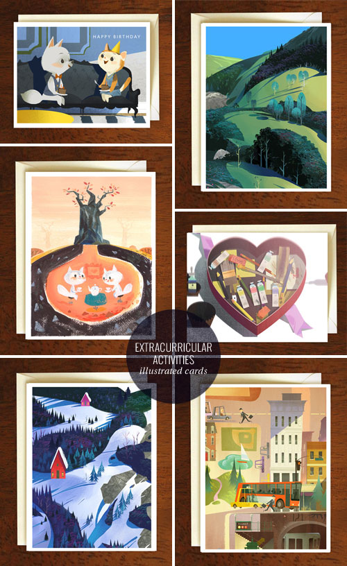 Illustrated Greeting Cards | Extracurricular Activities