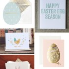 Happy Easter Cards as seen on papercrave.com