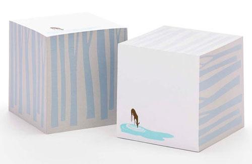 Deer Sticky Note Cube | Ilee