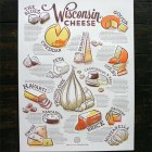 Wisconsin Cheese Poster | Cricket Design Works (design) + Studio on Fire (printing)